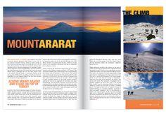 travel magazine layout inspiration - Google Search