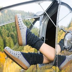 #Airstream #TradeWind 1970 #glamping by #tomsvintagetrailers #Fotoshooting in Goslar Germany in Autumn. Foto by #switchstudio for #haflinger. Airstream, Puma Platform, Platform Sneakers, Vintage Trailers, Glamping, Toms, Studio, Germany, Autumn