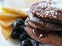 Sunday Morning Breakfast - Healthy Pancakes. Yum