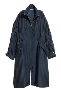 Parka oversize - Azul oscuro - MUJER | H&M ES