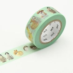 Get creative with MT ex Baby Animals, a masking tape that's covered with a cute pattern of kittens, puppies, penguins and bunnies. Bullet Journal Project Planning, Baby Birthday Decorations, Birthday Cards For Niece, Design Tape, Mt Masking Tape, Decorated Envelopes, Decorative Tape, Cute Stationery, Kawaii Stickers