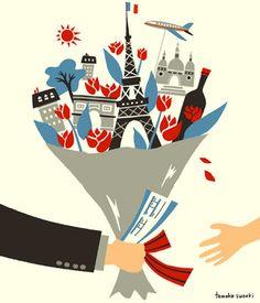 Paris bouquet