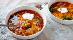 A simple and easy weeknight chili recipe, loaded with cheese and toppings!