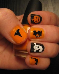 Cute Halloween decorative nail art decals for - 2014 Halloween for Kids