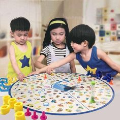 Detectives Looking Chart Board Puzzle Brain Training Toys for Children