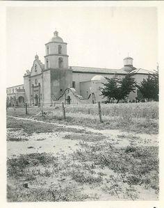 Old Mission San Luis Rey, 1921.