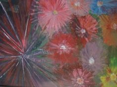 "Saatchi Art Artist bratu mihaela; Painting, ""floral explosion"" #art"
