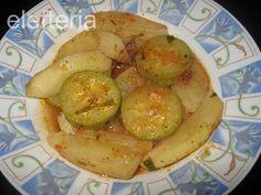 Γεύση Ελευθερίας: Κολοκυθάκια με πατάτες γιαχνί