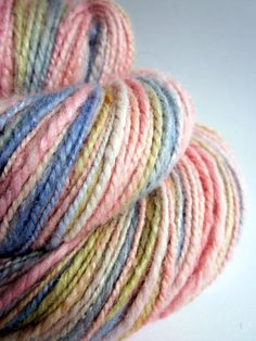 Handspun alpaca and silk yarn / wool 206 yards by thefibretree, £9.99