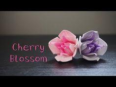 Origami Tutorial: Cherry Blossom (Pham Hoang Hai) Hello Malinda - YouTube