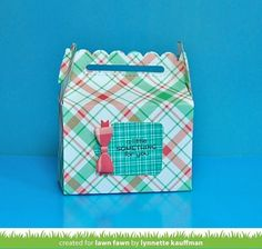 Lawn Fawn Intro: Scalloped Treat Box, Put a Bow on It (the Lawn Fawn blog)