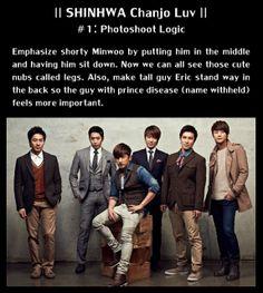 Shinhwa Chanjo Luv #1: Photoshoot Logic   #shinhwa #kpop #funny #macro #shinhwachanjo