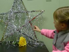 """Sparkly twig star from 'Discovery Early Learning Center' ("""",)"""