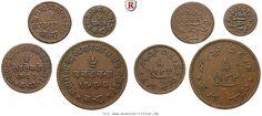 RITTER Kutch, Khengarji III., George V., Satz, 4 Münzen #coins