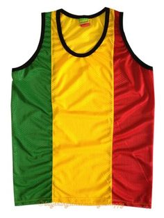 New Jamaica Africa Rasta Reggae Sleeveless Tank Top Singlet T-Shirt Bob Marley - $17