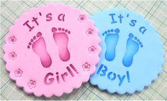 It's a Boy/ It's a Girl Cookie Tops