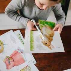 Bunny Rabbit Paper Doll Kit from www.bellalunatoys.com. Charming! $14.95