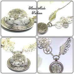 再販オルゴナイト・白銀の宇宙・ネックレス Uv Resin, Moka, Minne, Decorative Items, Diy And Crafts, Pendant Necklace, Accessories, Jewelry, Jewlery