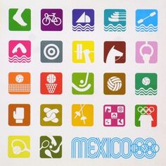 1968-Mexico-Summer-Olympics-Poster (these look like apps!)