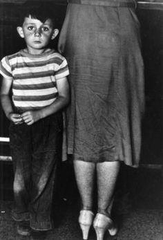 GORDON PARKS - Mother and Child, Blind River, Ontario, 1955  ©  The Gordon Parks Foundation