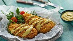 pierś z kurczaka w chipsach Kuchnia Lidla Baked Potato, Potatoes, Favorite Recipes, Chicken, Baking, Dinner, Ethnic Recipes, Food, Dining