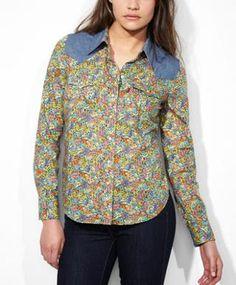 Levi's Levi's® x Liberty Western Shirt - Floral Patch - Blouses & Shirts