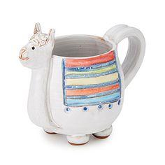 This cheerful handmade llama mug makes sipping your coffee, tea, or cocoa feel like a grand adventure. Alpacas, My Coffee, Coffee Cups, Coffee Art, Morning Coffee, Stars Disney, Llama Gifts, Animal Mugs, Villeroy