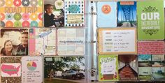 Like these vacation pages!  Mrs Crafty Adams | Project Life 2013 - Vacation!