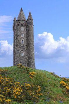Scrabo Tower, Newtownards, Northern Ireland