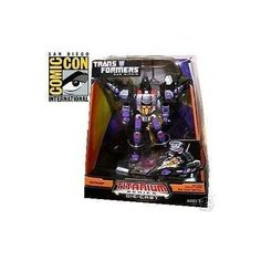 2008 SDCC Comic Con Hasbro Exclusive Transformers Titanium Series DieCast Skywarp *** Click on the image for additional details.Note:It is affiliate link to Amazon.
