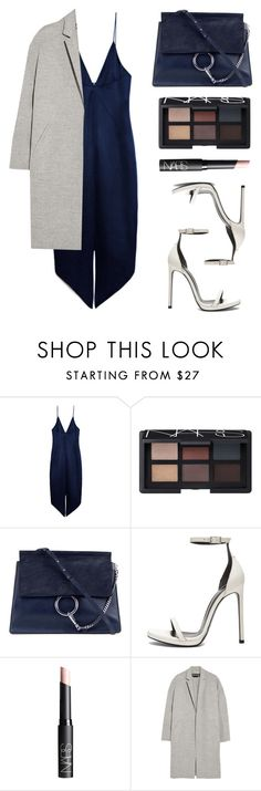 """""""I'm bossy"""" by baludna ❤ liked on Polyvore featuring Cushnie Et Ochs, NARS Cosmetics, Chloé, Yves Saint Laurent and Rochas"""