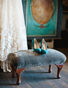 31 Soft Suede Wedding Shoes And Boots | HappyWedd.com