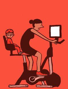 Jean Jullien: Bike