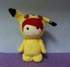 Pika Pikachu by Crochet Paws, via Flickr