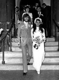 Another of Barry Gibb and Linda Gray
