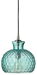 Clark Collection Aqua Glass Jamie Young 10-Inch-W Pendant via 'eurostylelighting.com' ★♡★