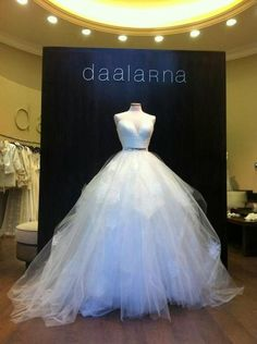 Daalarna ball gown wedding dress. Oh my goodness! How freaking amazing is this dress?!?!