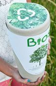 The Bios Urn, a funerary urn made from biodegradable materials that will turn you into a tree after you die. Inside the urn there is a pine seed, which can be replaced by any other seed or plant, and will grow to remember your loved one. Bios Urn transforms death into life through nature.
