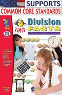 Timed Division Facts (Enhanced eBook). Download it at Examville.com - The Education Marketplace. #scholastic #kidsbooks @Karen Echols #teachers #teaching #elementaryschools #teachercreated #ebooks #books #education #classrooms #commoncore #examville