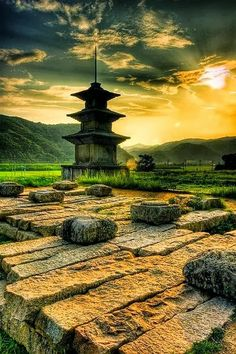 Ruins Located Near Gyeongju, in Ulsan, South Korea Gyeongju, Places Around The World, Oh The Places You'll Go, Places To Travel, Places To Visit, Around The Worlds, Ulsan, Beautiful World, Beautiful Places