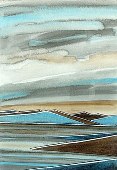 Colourful Art, Abstract Landscape, All The Colors, Printmaking, Landscapes, Art Gallery, Colours, Ink, Artist