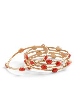 Love bangle bracelets but they don't love my tiny wrists!