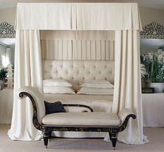 Color Outside the Lines: Canopy Beds
