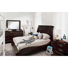 Cascade Merlot 6 Pc. Queen Bedroom | Value City Furniture