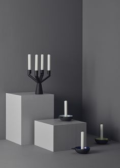 Candle holders by Stelton. www.stelton.com