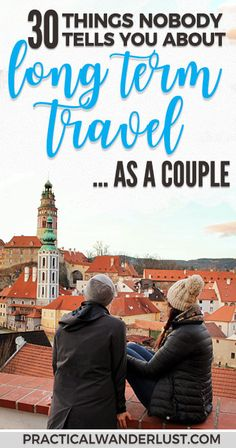 Traveling with your partner is one thing. Long term travel with your partner? That's like, a whole other, totally different, completely not the same thing. My husband and I spent a whole year traveling the world together as a couple ...and lived to tell the tale! Here's what nobody told us about long term travel as a couple.