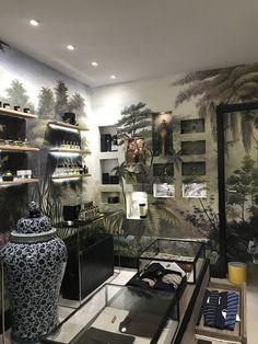 Ananbô Papier peint Les sources de l'Orénoque Boutique pour Hommes Harold - Paris