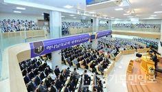 성전 곳곳 가득 메운 인천간석 하나님의교회(안상홍님) 헌당기념예배