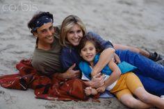 Matt Lattanzi with Olivia Newton-John and daughter Chloe