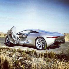 Jaguar Hybrid CX75